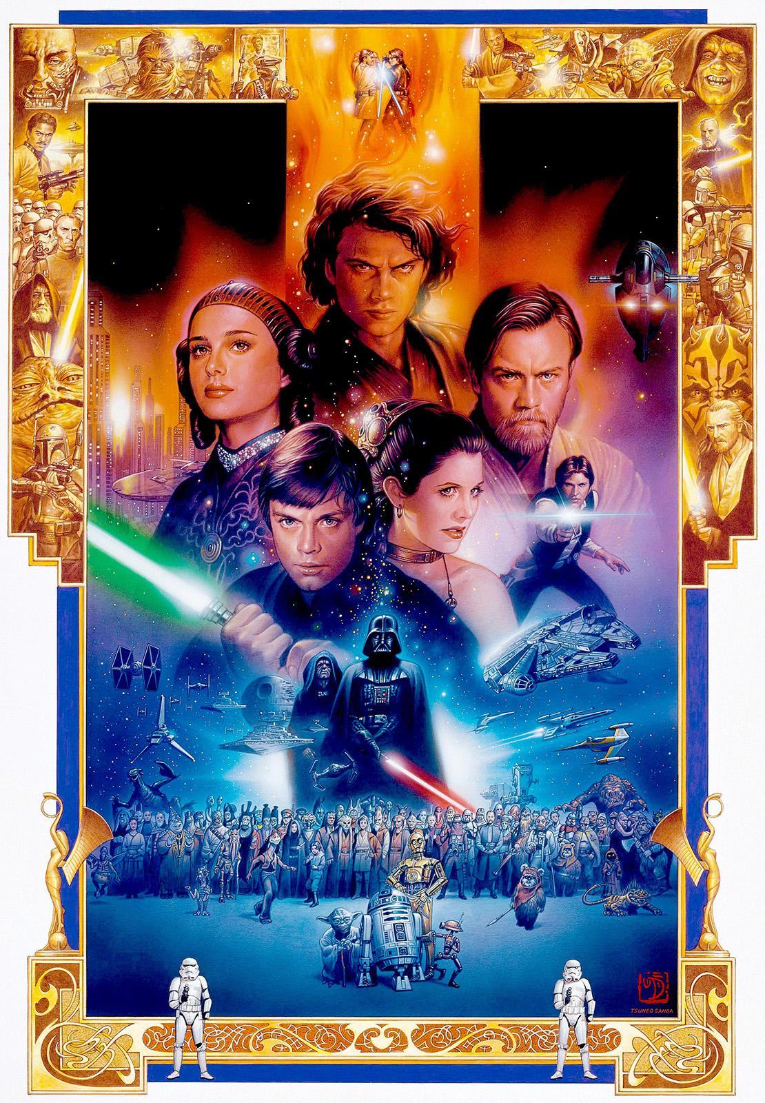 anniversary star wars original art sandaworldcom