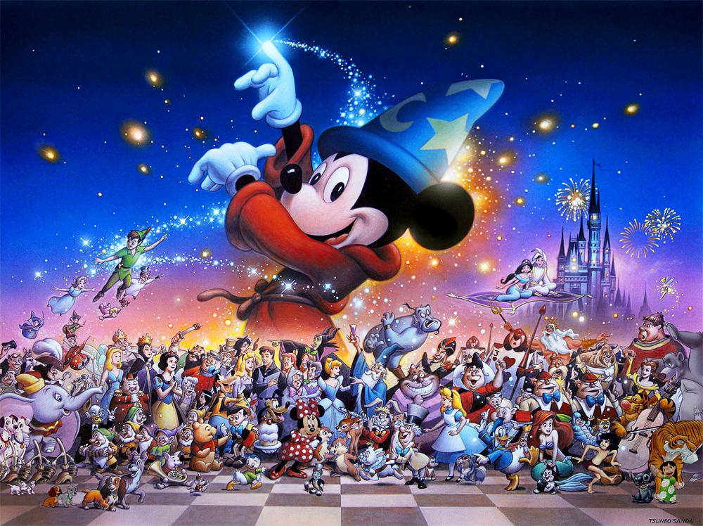 Art Disney: The Art Of TSUNEO SANDA
